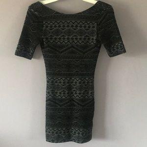 H&M body con dress.